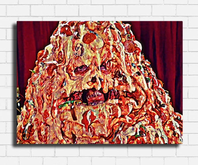 Spaceballs Pizza The Hut Canvas Sets