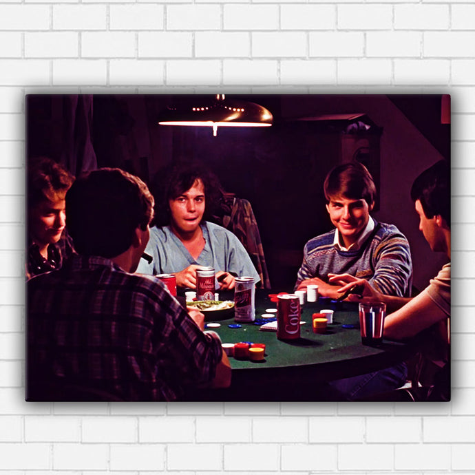 Risky Business Poker Canvas Sets