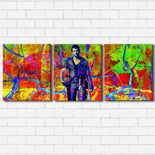 Load image into Gallery viewer, The Road Warrior Color Drip Canvas Sets