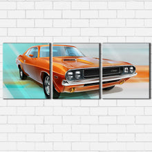 Load image into Gallery viewer, Retro Challenger Advertisement Canvas Sets