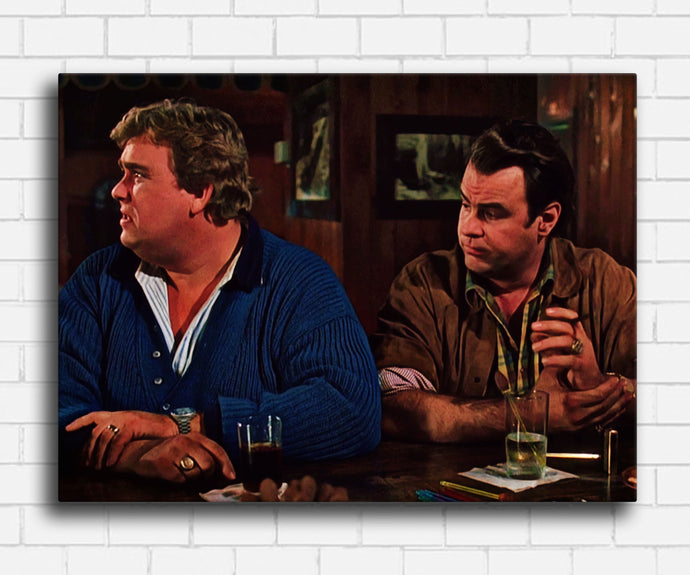 The Great Outdoors Chet and Roman At The Bar Canvas Sets