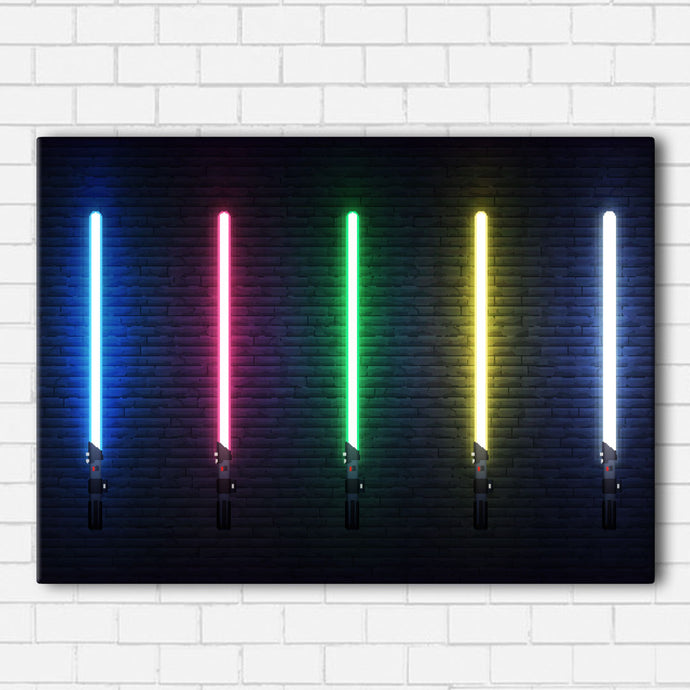 Saber Glow Canvas Sets