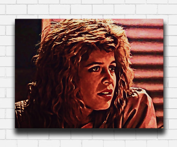 Terminator 1984 Sarah In The Club Canvas Sets