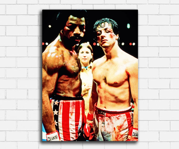 Rocky and Apollo Creed Canvas Sets