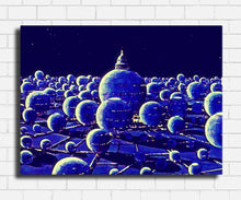 Load image into Gallery viewer, Spaceballs City Canvas Sets