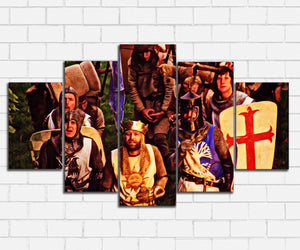 Monty Pythons Holy Grail Stop Groveling Canvas Sets