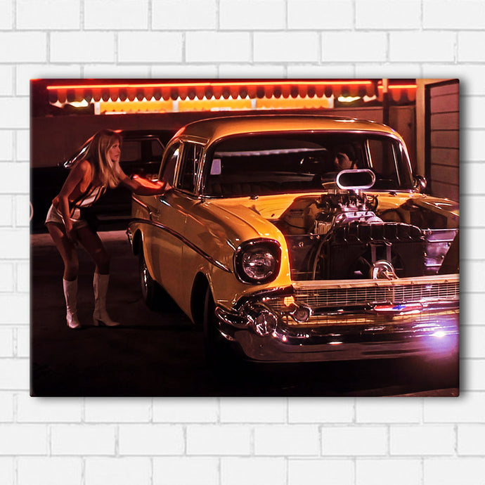 Hollywood Knights- Suzie q and Duke Car Canvas Sets