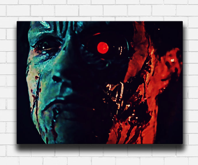 Terminator 1984 Banged Up Canvas Sets