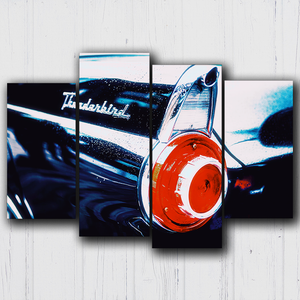 Thunderbird Tail Lights Canvas Sets