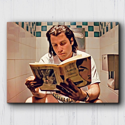 Pulp Fiction To Be Continued Canvas Sets