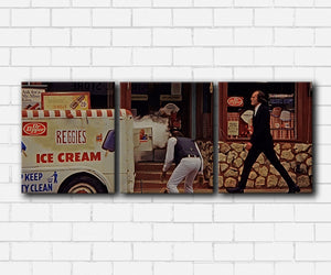 Phantasm The Tall Man & Ice Cream Truck Canvas Sets