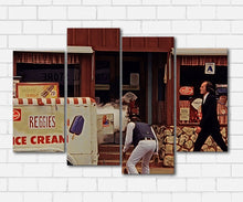Load image into Gallery viewer, Phantasm The Tall Man & Ice Cream Truck Canvas Sets