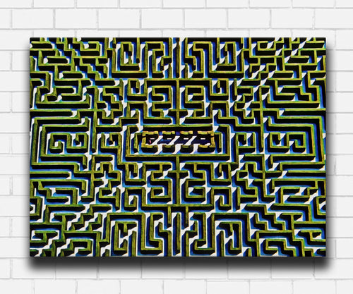 The Shining Green Maze Canvas Sets