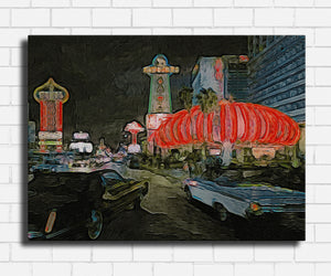 Casino The Tangiers Artsy Canvas Sets