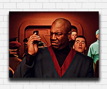 Load image into Gallery viewer, The Fifth Element The President Is An Idiot Canvas Sets