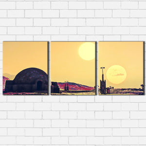 Twin Suns Canvas Sets