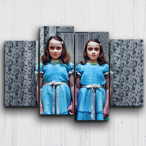 The Shining Twins Canvas Sets