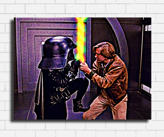 Spaceballs Twisted Schwartz Canvas Sets