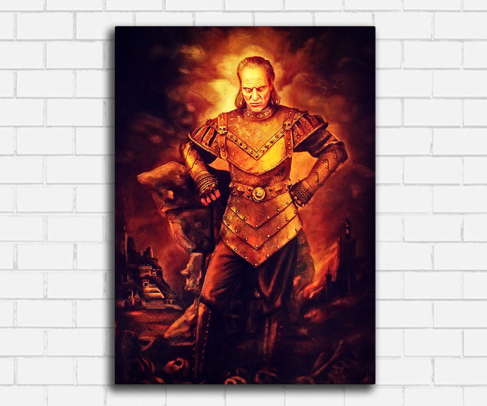 Ghostbusters II Vigo the Carpathian Canvas Set