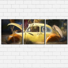 Load image into Gallery viewer, VW Beetle Water Color Canvas Sets