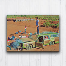 Load image into Gallery viewer, Vacation Car Trouble Canvas Sets