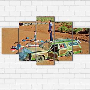 Vacation Car Trouble Canvas Sets