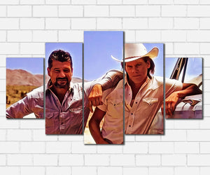 Tremors Val & Earl Canvas Sets