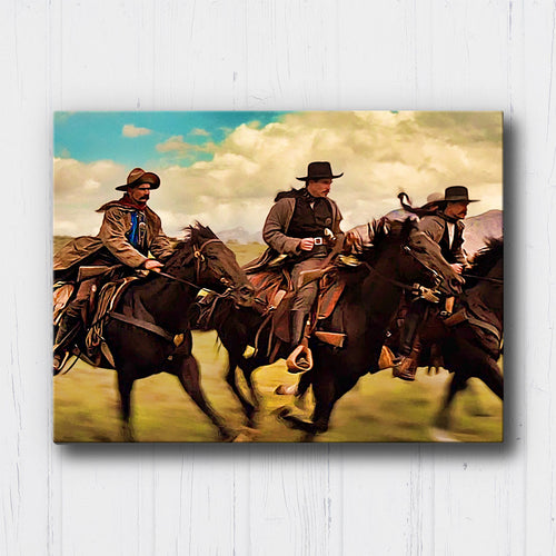 Tombstone Wyatt Earp and his Immortals Canvas Sets