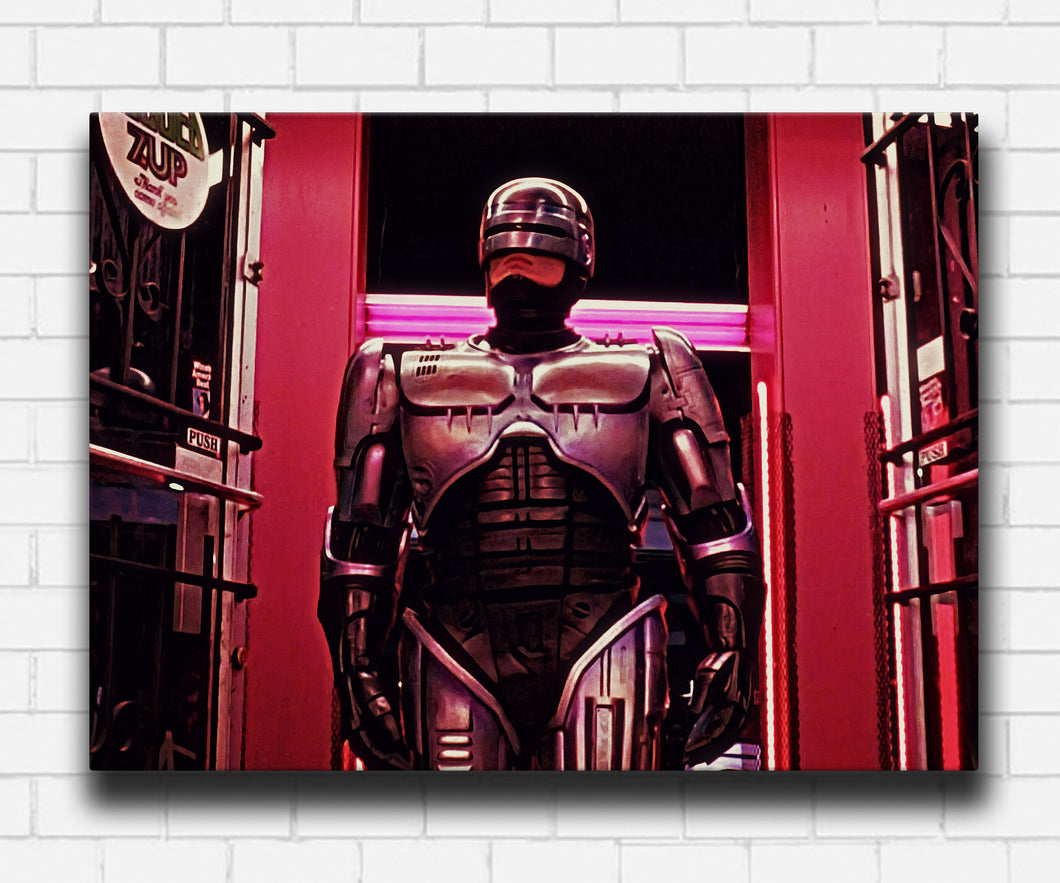 Robocop You're Under Arrest Canvas Sets