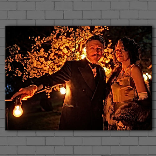 Peaky Blinders- Polly Gray & Aberama Gold Canvas Sets