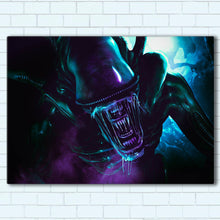 "Load image into Gallery viewer, Alien Canvas SetsWall Art1 PIECE / SMALL / Standard (.75"") - Radicalave"