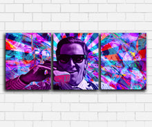 Load image into Gallery viewer, American Psycho Neon Drip Canvas Sets