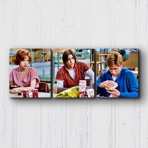 The Breakfast Club Andrew's Lunch Canvas Sets