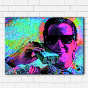 American Psycho Neon Canvas Sets