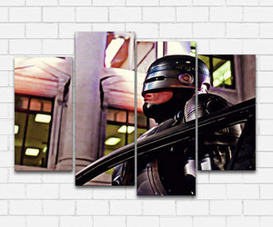 Robocop At City Hall Canvas Sets