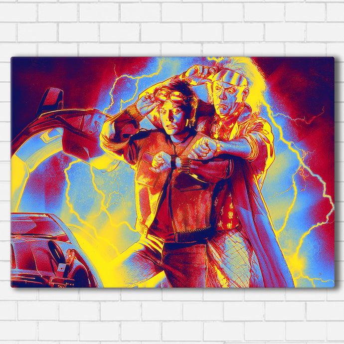 BTTF Doc and Marty Canvas SetsWall Art1 PIECE / SMALL / Standard (.75