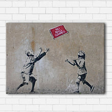 Load image into Gallery viewer, Banksy No Ball Games Canvas Sets