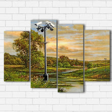 Load image into Gallery viewer, Banksy Field Surveillance Canvas Sets