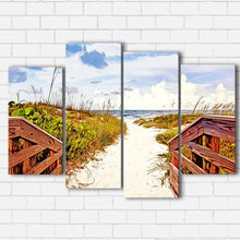 Load image into Gallery viewer, Beach Path  Canvas Sets