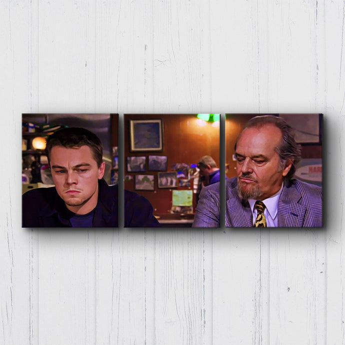 The Departed Billy Meets Frank Canvas Sets