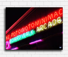 Load image into Gallery viewer, The Great Outdoors Boardwalk Arcade Canvas Sets