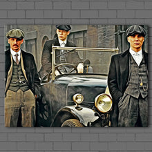 Load image into Gallery viewer, Peaky Blinders- The Boys Canvas Sets