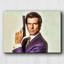 Load image into Gallery viewer, James Bond #4 Canvas Sets