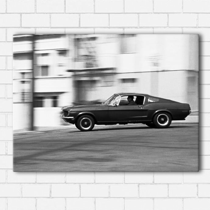 Bullitt Downtown B&W Canvas Sets