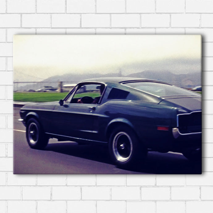 Bullitt Side View Canvas Sets