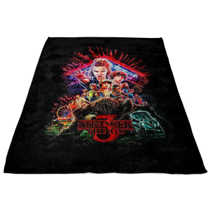 Stranger Things Blanket