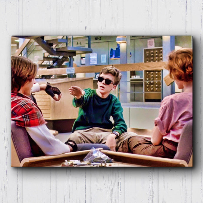 The Breakfast Club Cannot Hold The Smoke Canvas Sets