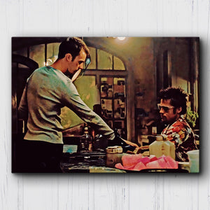 Fight Club Chemical Burn Canvas Sets