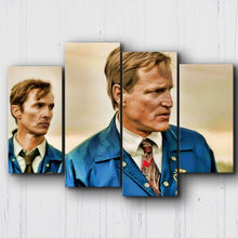 Load image into Gallery viewer, True Detective Cohle & Hart '95 Canvas Sets