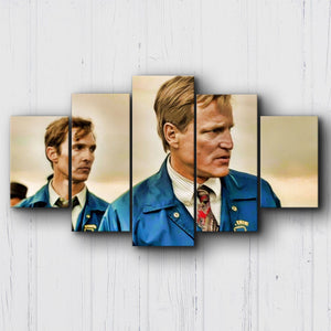 True Detective Cohle & Hart '95 Canvas Sets